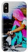 Slice Of Life Mud Oven Chulha Tandoor Indian Village Rajasthani 2 IPhone Case