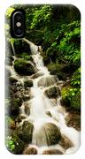 Sliding Over The Rocks IPhone Case