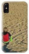 Sliding Path IPhone Case