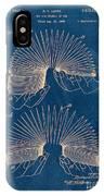 Slinky Toy Blueprint IPhone Case