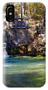 Sluice Gate At Alley Spring IPhone Case