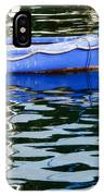 Small Blue Boat IPhone Case