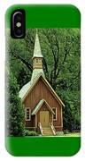 Small Chapel  IPhone Case
