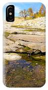 Small Pond Devonian Fossil Gorge IPhone Case