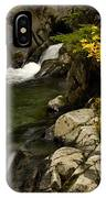 Small Stream During Fall IPhone Case