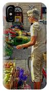 Small Town Market IPhone Case