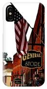 Small Town Patriotism IPhone Case