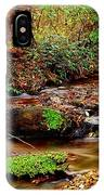 Small Waterfall And Stream 2 IPhone Case