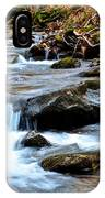 Small Waterfall In Western Pennsylvania IPhone Case