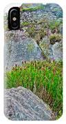 Smartweed Just Below Huayna Picchu's Peak-peru  IPhone Case