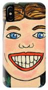 Smiling Boy IPhone Case