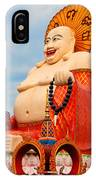 smiling Buddha IPhone Case