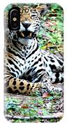 Smiling Jaguar IPhone Case