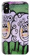 Ewe And Me Smiling  IPhone Case