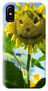 Smiling Sunflower IPhone Case