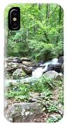 Smith Creek Downstream Of Anna Ruby Falls - 2 IPhone Case