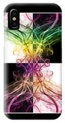 Smoke Art Triptych IPhone Case
