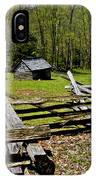 Smoky Mountain Cabins IPhone Case