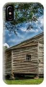 Smoky Mountain Pioneer Cabin E126 IPhone Case
