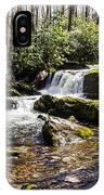 Smoky Mountain Waterfalls IPhone Case