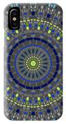 Smooth Squares Kaleidoscope IPhone Case