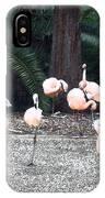 Smudgestick Flamingos IPhone Case