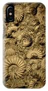 Snail Fossil IPhone Case