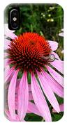 Snail On Wildflower IPhone Case