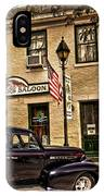 Snappers Saloon Ripley Ohio IPhone Case