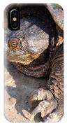 Snapping Turtle IPhone X Case