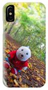 Snebamse Is Here IPhone Case