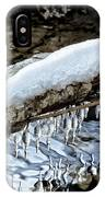 Snow And Icicles No. 1 IPhone Case