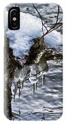 Snow And Icicles No. 2 IPhone Case