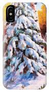 Snow Blanket IPhone Case