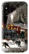 Snow Bound IPhone Case