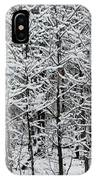 Snow Branches IPhone Case