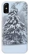 Snow Conifer 2-1-15 IPhone Case