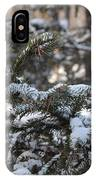 Snow Covered Branches IPhone X Case