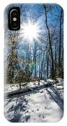 Snow Covered Forest IPhone Case