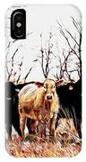 Snow Cows II IPhone Case