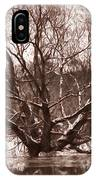 Snow Imp 1 - Tree Covered With Snow January 2014 IPhone Case