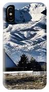 Snow In The Mountains IPhone Case