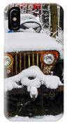 Snow Jeep IPhone Case