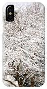 Snow Maple IPhone Case