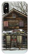 Snow On The General Store IPhone Case