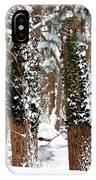 Snow On Tress 2 IPhone Case