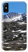 Snow Patched Mountain IPhone Case