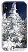 Snow Spruce Sunshine IPhone Case