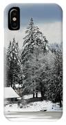 Snow Storm IPhone Case