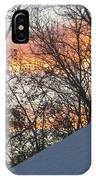 Snow Sunset IPhone Case